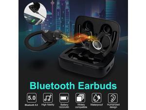 Bluetooth5.0 Sport Headset Wireless Earphones Earbuds Stereo Headphones Ear Hook