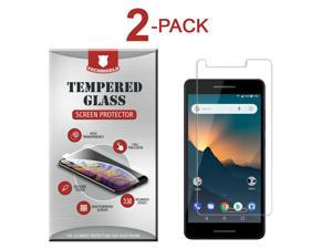 2-Pack Tempered Glass Screen Protector Film for  2V / 2.1