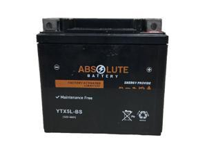 New YTX5L-BS Replacement Battery For Yamaha 450 WR450F 2003-2018 Motorcycle AGM