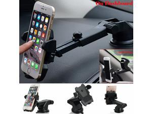 For Mobile Cell Phone GPS iPhone  360° Mount Holder Car Windshield Stand