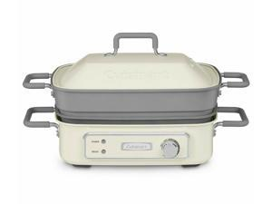 STACK5 5-quart All-in-One Countertop Indoor Grill