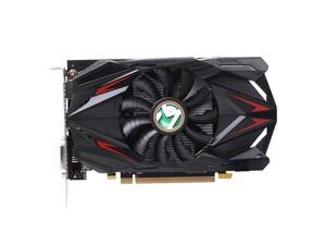Maxsun New cyclone blade cooling system Radeon RX 550 4G Graphic Card GDDR5 GPU Gaming Video Card video For PC Slivered PCB full solid capacitance GPU Model: Radeon RX550