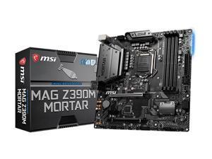 Intel Motherboards MSI MAG Z390M MORTAR LGA 1151 (300 Series) Intel Z390 HDMI SATA 6Gb/s USB 3.1 Micro ATX Intel Motherboard