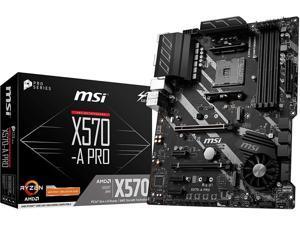 MSI Pro AMD X570 AM4 ATX DDR4-SDRAM Motherboard