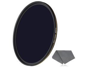 82mm ND64 Filter 6 Stop Neutral Density Filter for Camera Lenses 16Layer MultiResistant Coated German Optics Glass WeatherSeal ND Filter with Lens Cloth