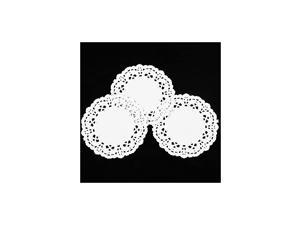 Paper Lace Doilies 3.5 Inch Pack Of 250 Pcs by CHICIEVE