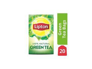 Tea Bags 100% Natural Green Tea Can Help Support a Healthy Heart 1.06 oz 20 Count