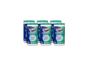 Pro Disinfecting Wipes, Fresh Scent, 75 Count (Package May Vary) (Pack of 6) (15949)