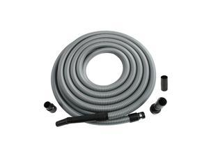 Systems 50 Foot Extension Hose for Shop and Garage Vacuums, Ft, Silver
