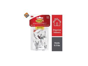 Wire Hooks White Indoor Use 17067MPES 5 Pack