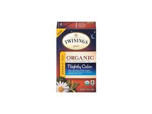 of London Organic and Fair Trade Certified Camomile with Mint & Lemon Herbal Tea Bags, 20 Count (Pack of 1)