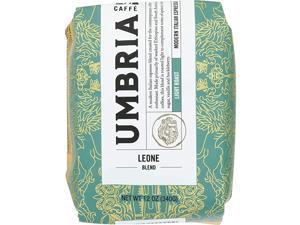Fresh Seattle Whole Bean Roasted Coffee, Leone Blend Light Roast 12oz. bag