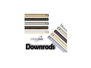 12 Inch Ceiling Fan Downrod - White - DR512-44