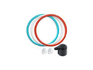 Silicone Sealing Ring 3 Pack with Steam Release Valve Compatible for Instant Pot DUO and Float Valve Sealer, Savory Sky Blue & Sweet Cherry Red & Common Transparent White …