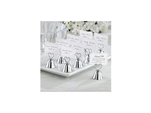 set of 24) Kissing Bells Place Card Holders
