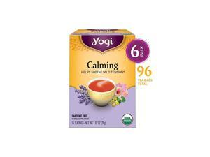 Tea - Calming (6 Pack) - Helps Soothe Mild Tension - 96 Tea Bags