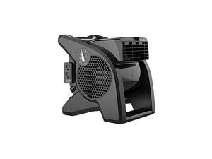 High Velocity Pro-Performance Pivoting Utility Fan for Cooling, Ventilating, Exhausting and Drying at Home, Job Site and Work Shop, Black Grey U15617