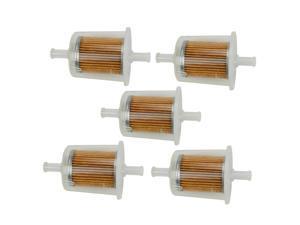 5x Fuel Filter For John Deere AM876035 Kubota 12581-43012 Toro 18-1520 108-3831