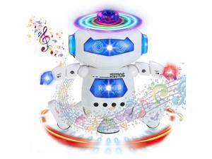 Toys For Boys Girls Robot Kids Toddler Light Dancing Musical Toy Christmas Gifts