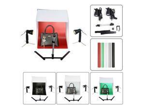 60cm Photography Lighting Tent Kit Backdrop Mini Box Light Room Photo Studio
