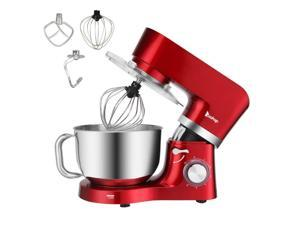 5.8QT Pro Tilt-Head Stand Mixer 6 Speed Electric Stainless Steel Bowl Red