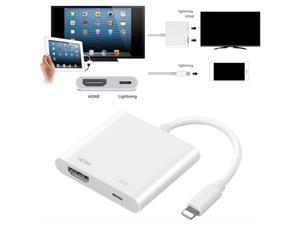 Lightning Digital AV Adapter 8Pin Lightning to HDMI Cable for iPhone 8 7 X iPad