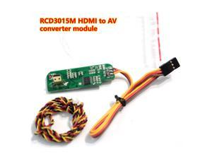 RCD3015M Micro HDMI to AV Analog Signal Converter Adapter Board With RC Shutter for SONY Nex Series Camera FPV Airplane Drone Aerial Survey