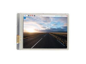 2.8 Inch Fastest 60+ fps HD Touch Screen 640x480 LCD Display for Raspberry Pi 3 Model B Plus /3B/Zero / Zero W / Zero WH