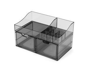 Acrylic Cosmetic Transparent Storage Box All In One-#07