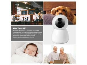 Home Security WIFI Camera 1080P Wireless IP Camera Baby Monitor with Motion Detection P/T/Z Security Camera,