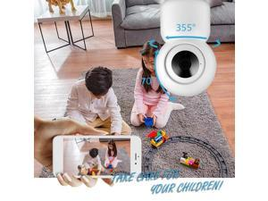 Home Security WIFI Camera 1080P Wireless IP Camera Baby Monitor with Motion Detection Auto Tracking P/T/Z