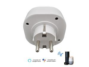WIFI Intelligent Socket Plug Home Socket Compatible with Voice Control APP Remote Control Timing Function
