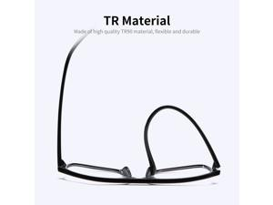 TR90 Anti Blue-ray Glasses Universal Blue Light Blocking Glasses Fatigue Proof Lightweight Eye Protection