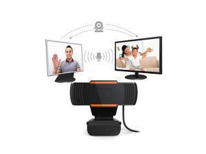 1080P 2MP Wide-Angle HD Webcam 30fps Auto Focusing Web Cam Noise-reduction MIC Laptop Computer Camera USB Plug
