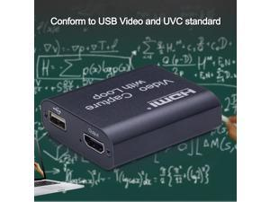 4K Input 1080P Output HDM I High Definition USB Video Capture Card with Loop