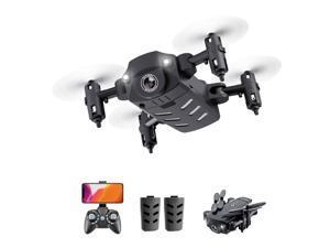 KK8 Mini Drone RC Quadcopter 1080P HD Camera 15mins Flight Time  360 Degree Flip 6-Axis Gyro Altitude Hold