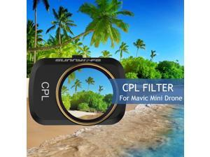 Compatible with DJI Mavic Mini Drone 3pcs Lens Filter Set CPL ND8 ND16 Filter Multi Coated Filters Combo