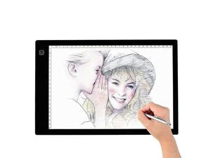Tracing Light Box A4 LED Artcraft Tracing Light Pad Light Box for ArtistsDrawing Sketching Animation 94x14 Inch Light Pad A4
