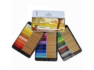 FARBEN 72 Color Pencil Set Professional Named and Numbered Oil Based Soft Core Ideal For Adult Crafts Artists Sketchers and Children Coloring Sketching and Doodling