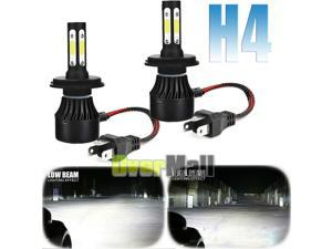 4-Sides CREE H4 9003 450000LM 3000W LED Headlight Kit Hi/Lo Beam Bulbs 6000K USA