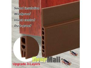 "40"" Door Draft Stopper Under Door Draft Blocker Insulator Door Sweep Replacement"