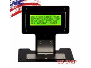 Green Serial IIC/I2C/TWI 2004 20X4 Character LCD LED Display  Stand For Arduino