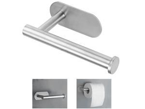 Wall Mounted Bathroom Toilet Paper Holder Rack Stainless Steel Tissue Roll Stand