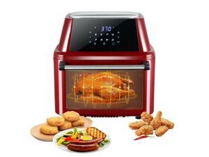 All-in-one 16L Air Fryer Oven Roast Chicken Dehydrator Rotisserie Grill