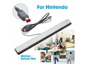 Wired Infrared Ultra Sensor Bar Extended Play Range for  Wii Control