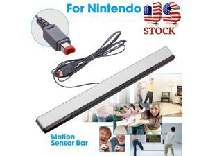 Wired Infrared Remote Motion Sensor Bar IR Ray Inductor for  Wii Wii U