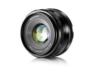 Neewer 35mm F1.7 Large Aperture APS-C Manual Focus Prime Fixed Lens, Compatible with Sony E-Mount APS-C Mirrorless Cameras, Including Sony A7III A9 NEX 3 3N 5 NEX 5T NEX 5R NEX 6 7 A5000 A3000 A6100