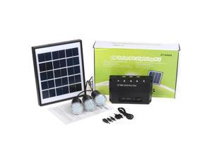 4W 7.5V Solar Lighting System Solar Power System DC LED Lights Outdoor Stall Lighting
