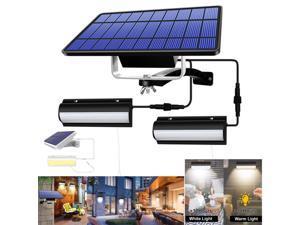 LED Solar Wall Lights Outdoor Waterproof Motion Sensor Infrared Wall Light Waterproof IP67