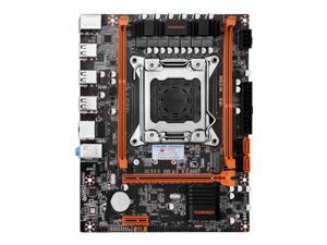 HUANANZHI X79 4M Motherboard M-ATX USB3.0 SATA NVME NGFF M.2 SSD Support REG ECC Memory and Xeon E5 Processor C2/V1/V2 2640